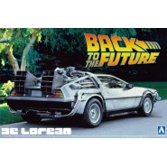 BACK TO THE FUTURE Kit Model DeLorean DMC-12 1/24 Original Aoshima BTTF 011850