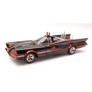 BATMAN CLASSIC 1966 SERIE TV Modello BATMOBILE 1:18 MATTEL Hot Wheels W1171