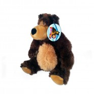 Plush 22cm BEAR MISHA from MASHA and the Bear ORIGINAL Official PMS