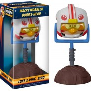 Figura LUKE X-WING BIRD Bobble Head ANGRY BIRDS STAR WARS 15cm Originale FUNKO