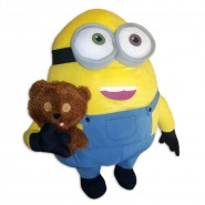 Peluche 60cm BOB MINION con ORSETTO TIM Originale MINIONS MOVIE 2015 Film