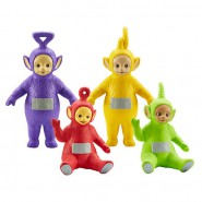 TELETUBBIES Set 4 Figure 8cm FAMILY PACK Collection 1 ORIGINALI Ufficiali