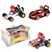 SET 3 Modellini da Super MARIO KART Originali MARIO COLLECTION Nintendo Pull And Speed