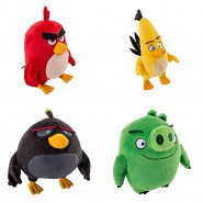 Peluche ANGRY BIRDS Movie 20cm SPIN MASTER Film 2016 ROVIO A Scelta