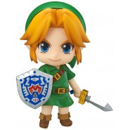 Action Figure LINK Legend of Zelda: Majora's Mask 3D 10cm GOOD SMILE Nendorid 553