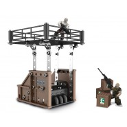 GEARS OF WAR Playset ISLAND BUNKER ASSAULT Kit MECCANO 854451
