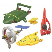 THUNDERBIRDS Mechanic Model PART 2 SET 4 FIGURES Takara TOMY Gashapon JAPAN