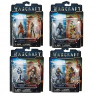 SET Figure 2-pack WARCRAFT Mini Figurine 7cm JAKKS PACIFIC a Scelta