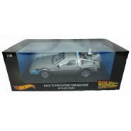 BACK TO THE FUTURE DieCast Model Car DELOREAN and MR. FUSION 1/18 MATTEL Hot Wheels CMC98 DieCast