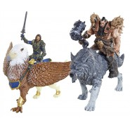 SET Figures 4-pack WARCRAFT Mini Figurines 7cm JAKKS PACIFIC Lothar Blackhand