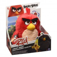 ANGRY BIRDS Peluche RED UCCELLO ROSSO 25cm PARLANTE SONORO Originale Spin Master MOVIE 2016