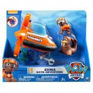 PAW PATROL Playset Gioco ZUMA BATH ADVENTURE Veicolo Sottomarino Gioco Bagno Spin Master