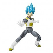 DRAGONBALL SUPER Figura Action VEGETA SAIYAN GOD Bandai SHF Figuarts