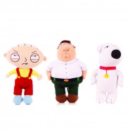 PELUCHE Originale GRIFFIN Family Guy 18cm SCELTA PERSONAGGIO STEWIE BRIAN Cane PETER