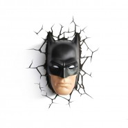 BATMAN MASK Lamp LED Wall Light DC Comics 3D LIGHT Philips OFFICIAL