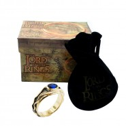 Signore Anelli ANELLO Vilya RE ELROND Ring OFFICIAL The Hobbit LOTR Lord Rings