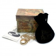 Signore Anelli UNICO ANELLO e COLLANA The One Ring OFFICIAL Original HOBBIT LOTR