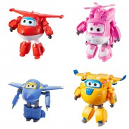 Trasformable Figure SUPER WINGS Transforming Plane 12cm CHOOSE YOUR CHARACTER