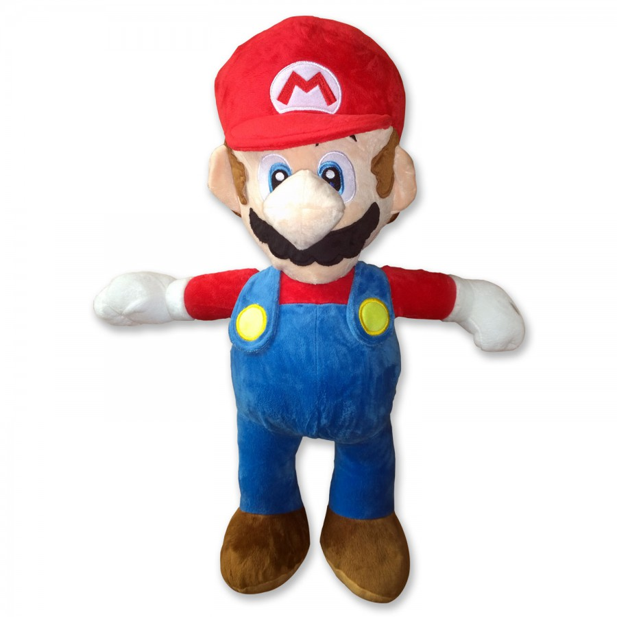peluche super mario enorme gigante 65cm personaggio a scelta originale ufficiale apecollection. Black Bedroom Furniture Sets. Home Design Ideas