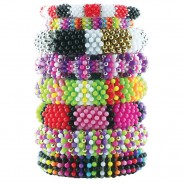 CREATIVE Crea Decorazioni FLOWER POWER BEADS Perline Collane BraccialettiNICE Set