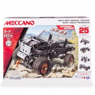 MECCANO Kit Set 4x4 OFF ROAD Truck Jeep 16212 Construction ORIGINAL Spin Master