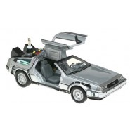 BACK TO THE FUTURE Part 2 Die Cast Model Car DeLOREAN Scale 1/24 Welly DELOREAN