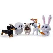 Plush PETS Secret Life 20cm SPIN MASTER Official YOU CHOOSE
