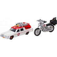 GHOSTBUSTERS Box Set 2 Models Car ECTO-1 and Moto ECTO-2 Scale 1:64 Hot Wheels DRW73