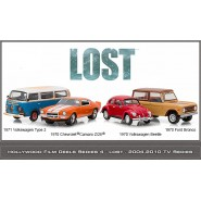 COLLECTOR SET 4 Modellini Auto LOST 1:64 Limited GREENLIGHT COLLECTIBLES