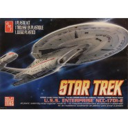 STAR TREK Modellino Kit ENTERPRISE NCC-1701-E Scala 1:2500 AMT Serie Cadet