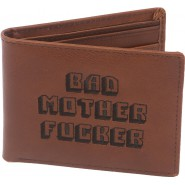 PORTAFOGLIO Pulp Fiction BAD MOTHER FUCKER Wallet Leather ORIGINALE Pelle NUOVO