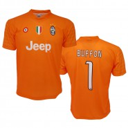 BUFFON Number 1 Goalkeeper  JUVENTUS 2016/2017 T-Shirt Jersey HOME Official Replica