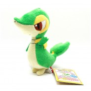 Pokemon RARO Peluche 15cm SNIVY Pokedex 495 Originale BANPRESTO JAPAN Best Wishes