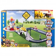 PAW PATROL Playset PISTA RACERS Lookout Tower Launch'n'roll QUARTIER GENERALE Spin Master 6028063