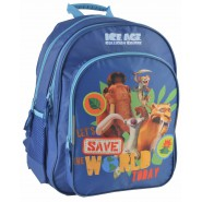 ERA GLACIALE 5 Zaino 38x30cm SAVE THE WORLD TODAY Sid Manny Diego ORIGINALE Ufficiale