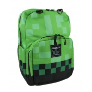 MINECRAFT School BACKPACK Pixel GREEN 43x32cm BIG ORIGINAL OFFICIAL
