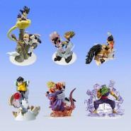 RARE Complete SET 6 Figure DRAGONBALL Z IMAGINATION Diorama PART 9 Bandai JAPAN Gashapon