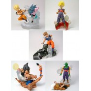 RARISSIMO SET 5 Figure DRAGONBALL Z Gashapon IMAGINATION PART 5 BANDAI Japan