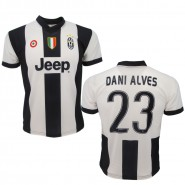 DANI ALVES Number 23 JUVENTUS 2016/2017 T-Shirt Jersey HOME Official Replica