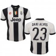 DANI ALVES Number 23 JUVENTUS 2016/2017 T-Shirt Jersey HOME Official Replica