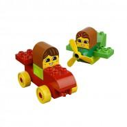 Playset Costruzioni ANDIAMO BRUM BRUM Libro e Mattoncini LEGO Duplo 6760