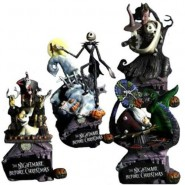 SET 4 Diorami Figure NIGHTMARE BEFORE CHRISTMAS Stupendi BOX Originali DISNEY Snow White FORMATION ARTS Square Enix