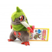 Pokemon RARO Peluche 12cm FRAXURE Pokedex 611 Originale BANPRESTO JAPAN Best Wishes