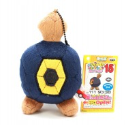 Pokemon RARO Peluche 12cm ROGGENROLA Pokedex 524 Originale BANPRESTO JAPAN Best Wishes