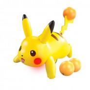 POKEMON Figura Attacco PIKACHU Battle Moves 30cm Originale TOMY Japan GO