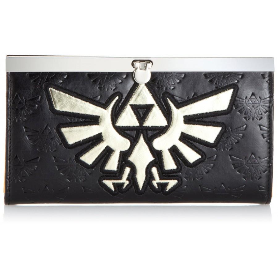 Portafoglio Portamonete Legend Of Zelda Golden Logo Oro