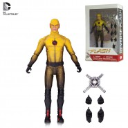 THE FLASH Action Figure REVERSE-FLASH 18cm Original DC COLLECTIBLES Boxed