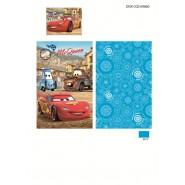 Set Letto BABY Disney CARS Saetta McQueen COPRIPIUMINO 90x140 100% Cotone SAETTA CRICCHETTO