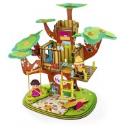 HEIDI Playset BIG TREEHOUSE with SOUNDS and 2 FIGURES Original FAMOSA