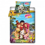 BED SET Duvet Cover MIA AND ME 160x200 100% COTTON